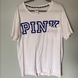 Pink L Short Sleeve Shirt